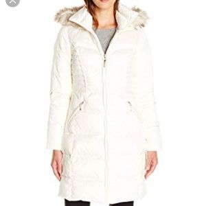 Winter White puffy coat